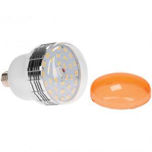 Westcott Daylight LED 35W E27 con filtro di conversione al tungsteno