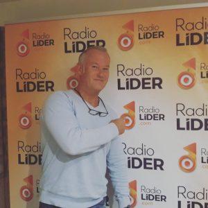 Christoph Schnitzler en radio Líder con David Expósito