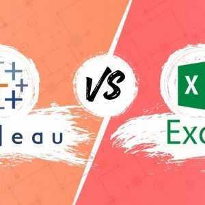 Tableau versus Excel: wanneer gebruik je Tableau en wanneer moet je Excel gebruiken?