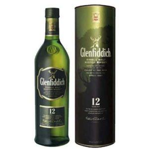 Whisky Glenfiddich 12 Yo Single Malt Cl 70