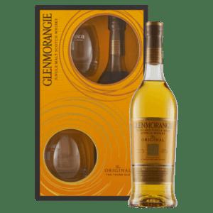 """Whisky Glenmorangie 10 YO """"Casks Only Used Twice"""" 2 Tumbler Gift Set"""