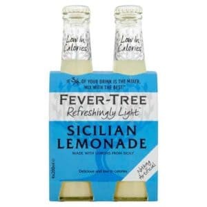 Fever Tree Sicilian Lemonade (4X200ml)