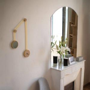 cannes miroir-pendule drugeot