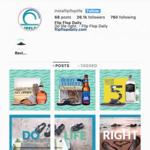 flip flop daily follow instagram