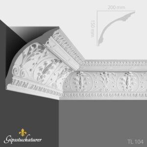 gips-stuckaturer-stockholm-sekelskifte-dekorativa-taklister-taklist-tl104-gipsstuckaturer-se
