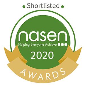 Shortlisted for NASEN Awards 2020 Badge