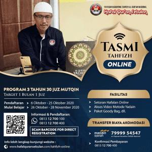 Tahfizh Online - Karantina Tahfizh Al-Quran Nasional