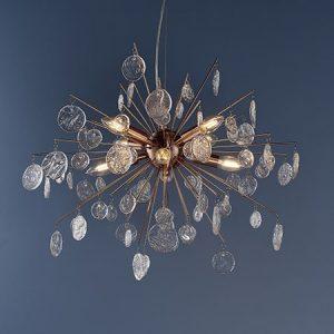 Endon Calla 90295 Pendant Ceiling Light 8 Light