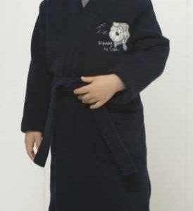 Vestaglia pile bambino 6M92457 M982 blu MARYPLAYD TAGLIA 2 - 4- 6- anni-0