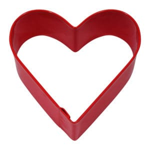 """2.75"""" Red Heart"""
