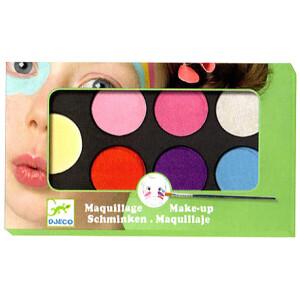 Ένα σετ μακιγιάζ από την εταιρεία Djeco που βοηθάει τους μικρούς μας φίλους να μεταμορφωθούν στους αγαπημένους τους ήρωες! Η παλέτα περιλαμβάνει 6 χρώματα