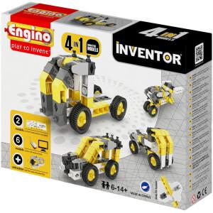 Κάνε τα πρώτα σου βήματα στις κατασκευές και γίνε ένας φανταστικός κατασκευαστής με αυτό το 4 σε 1 σετ βιομηχανικών κατασκευών.