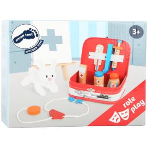 Ιατρική τσάντα με ξύλινα εργαλεία