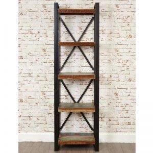 Urban Chic 5 Shelf Alcove Bookcase