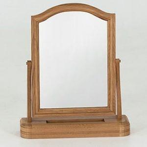 Carmen Oak Dressing Table Mirror