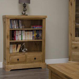 Canterbury Oak Small Bookcase