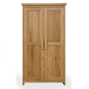 Harwell Oak CD/DVD Storage Cupboard
