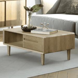 Scandic Oak 3 X 2 Coffee Table