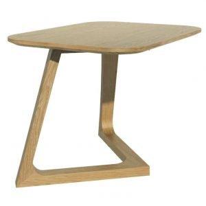 Scandic Oak Small Lamp Table