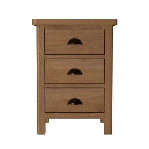 Kettlewell Oak Bedside Cabinet