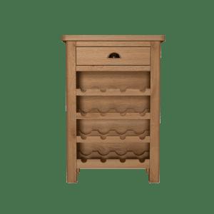 Kettlewell Oak Wine Cabinet