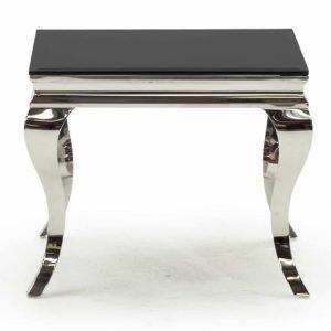 Louis Lamp Table - Black