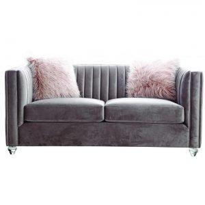 Crawford Pink 2-Seater Sofa