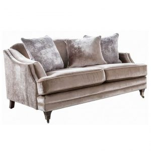 Belvedere 2 Seater Scatter Sofa - Champagne