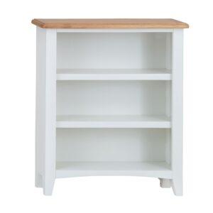 Burrill Oak Small wide bookcase