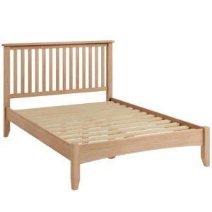 Nunwick Oak Double Bed