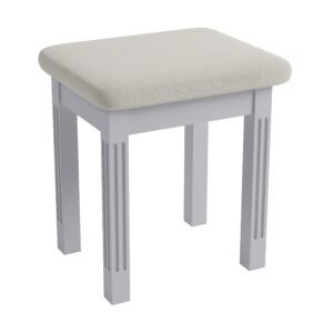 Marcel Grey Dressing Table Stool