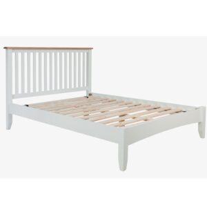 Burrill Oak Double Bed