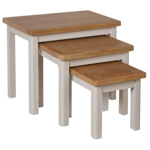 Laverton Oak Nest Of 3 Tables