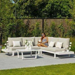 Ibiza Corner Set - White