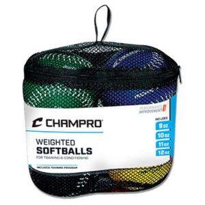 MOX1118446 300x300 - Champro Weighted Training Softball Set