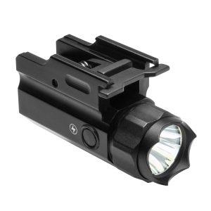 MOX1121946 300x300 - NcSTAR 3W 150 Lumen LED Flashlight QR w Strobe