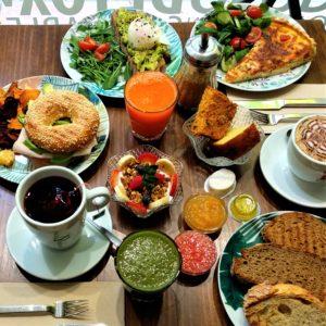 Brunch de Pinale, el desayuno saludable más completo