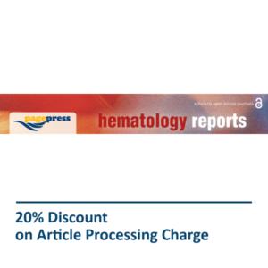 Hematology Reports Pagepress Journal Discount