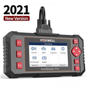 FOXWELL NT604 Elite OBD2 Scanner Engine Code Reader ABS SRS Transmission Car Diagnostic Tool
