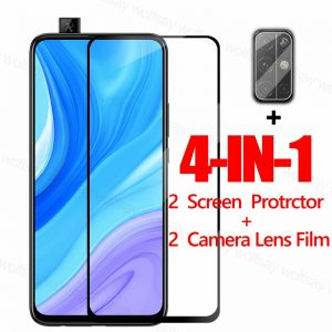 Full Cover Screen Protector For Huawei Y9s Y9A Y6s Y8p Y7p Y6p Y5p P30 Lite Y9 Prime Glass For Honor 9X 9A 9C 9S Tempered Glass