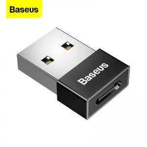 Baseus USB to USB Type C OTG Adapter USB-C Converter Type-c Adapter For Samsung S20 Xiaomi Mi 9t Oneplus 7 6t USB OTG Connector