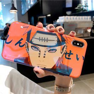 Naruto Anime Pain Uchiha Sasuke Uzumaki Case for iPhone 12 11 Pro X XR XS MAX 7 8 Plus cartoon Glossy Blu-Ray Soft Silicon Cover