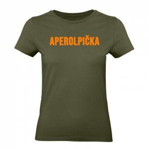 Aperolpička tričko s potlačou
