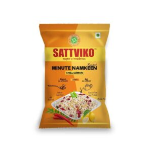 Buy Sattviko - Chilli Lemon Minute Namkeen - 75g Online
