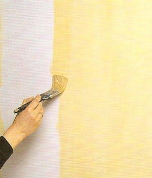 Применение специальных эффектов при покраске стен.
