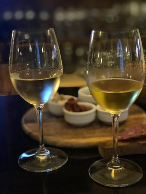 Some Croatian white wine varieties from the Peljesac Peninsula region. Photo by Lori Zaino.