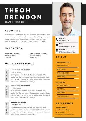 Practical CV Template