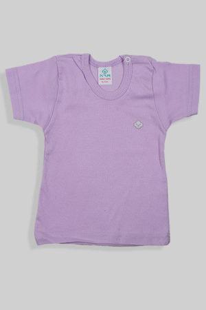 חולצת קיץ סגולה עם תיקתק