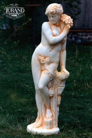 Kvinna med blomma index 1561