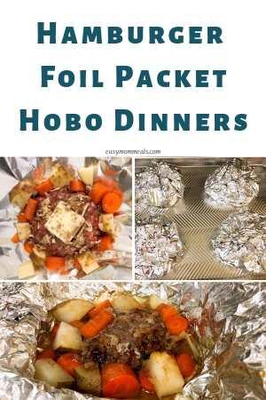 hamburger hobo dinners